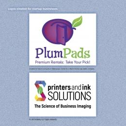 Design page 6: logos designed for startup businesses
