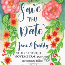 Jane & Freddy's Save the Date